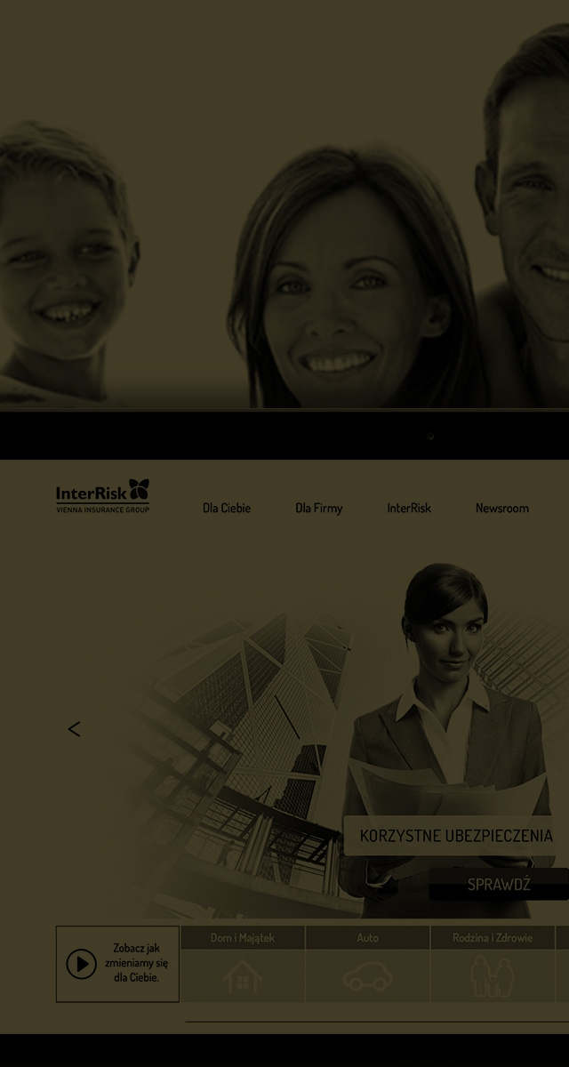 Corporate B2B and B2C website